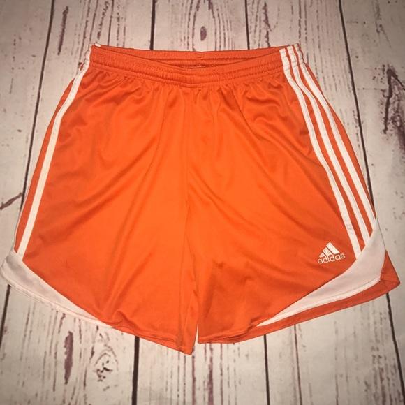 Shorts Orange Athletic Adidas Poshmark Medium Basketball OBag8